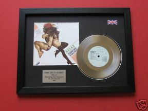 "FRANKIE GOES TO HOLLYWOOD - Relax 7"" platinum DISC with Cover"